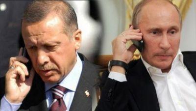 Эрдоган: звонок Путина после попытки госпереворота в Турции очень обрадовал меня и коллег
