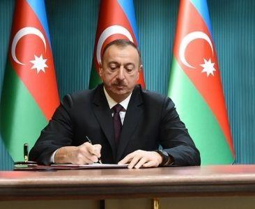 Президент наградил сотрудников «Азеришыг»