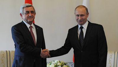 Putin və Sarkisyan bu gün Moskvada görüşür