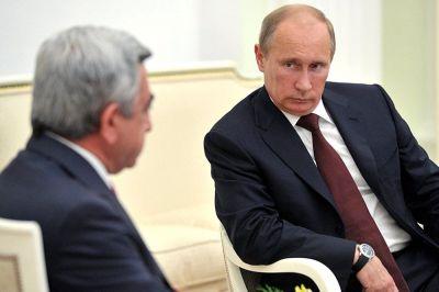 Сегодня в Москве пройдет встреча Путина и Саргсяна