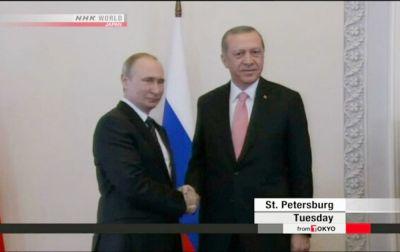 Yaponiya KİV-i: Rusiya-Türkiyə əlaqələri diqqət mərkəzindədir