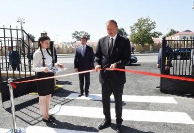 Ильхам Алиев находится в Габале