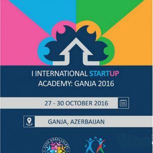 """""""I Beynəlxalq Startup Akademiyası:  Gəncə 2016"""""""