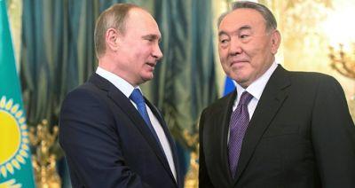 Путин поблагодарил Назарбаева за содействие примирению с Эрдоганом