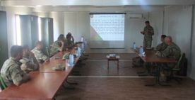 Американские военные провели семинар для военнослужащих Азербайджана
