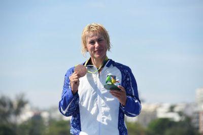 """İnna Osipenko-Radomskaya: """"Medal qazandıqda insan inanılmaz hisslər keçirir"""" AÇIQLAMA"""