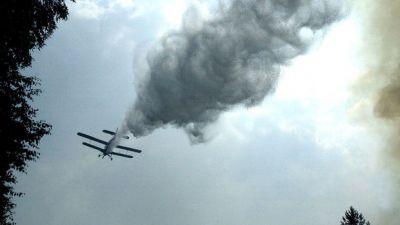 В Турции самолет потерпел крушение, есть погибшие
