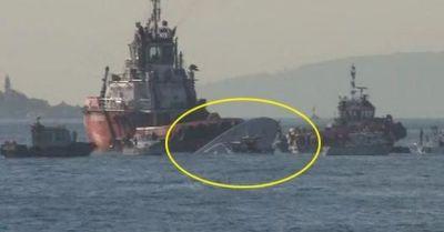 В Турции столкнулись корабли, есть погибшие