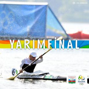 """İnna Osipenko-Radomskaya """"Rio-2016""""da yarımfinala yüksəlib"""