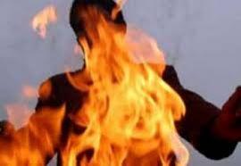 Masazırda bir nəfər yanaraq ölüb