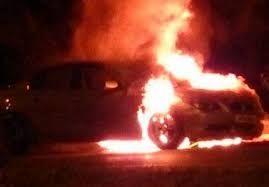 """""""BMW"""" yandı"""