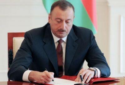 Президент Ильхам Алиев наградил группу военнослужащих Особой службы госохраны Азербайджана