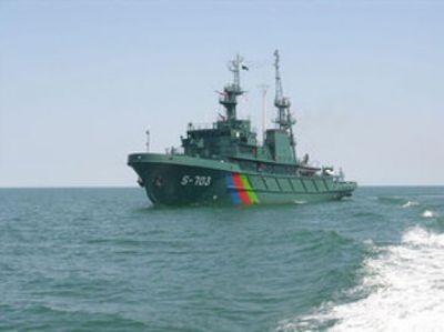 Пограничные корабли РФ и Азербайджана проведут антитеррористические учения в Каспии