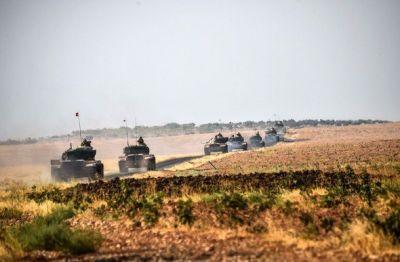 Türkiyə ikinci tank kalonunu Suriyaya göndərdi