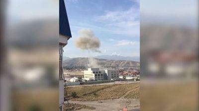 Теракт у посольства Китая в Бишкеке, есть жертвы