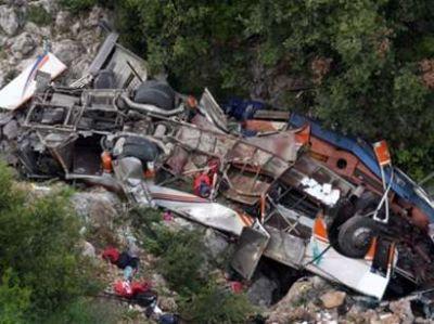 Автобус с арабскими туристами попал в ДТП, есть погибшие