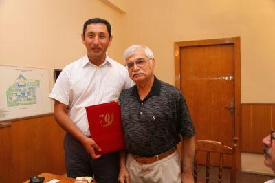 Rafiq Dadaşovun 70 yaşı tamam olur