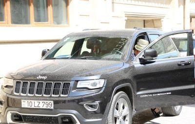 "Elza Seyidcahanın ""Jeep""i FOTOLAR"