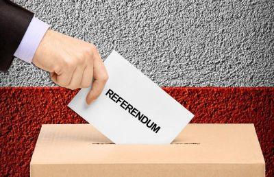 Referendumla bağlı bir neçə mərhələ başa çatır
