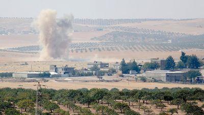 Турецкая армия подошла к сирийскому городу Манбидж