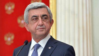 Sarkisyan Dağlıq Qarabağa gedib