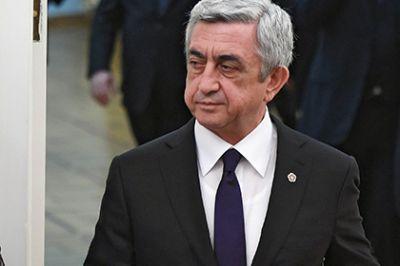 Президент Армении отправился в Азербайджан