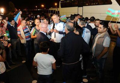 Паралимпийцы Азербайджана отправились в Бразилию