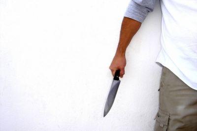 Gəncədə bıçaqlanma hadisəsi olub