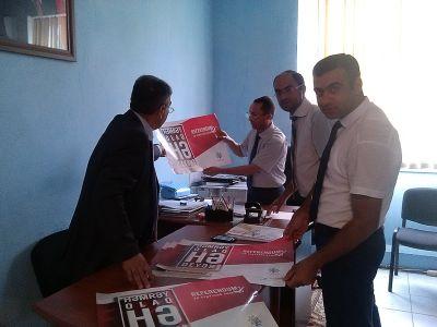 """""""Yeni Azərbaycan"""" təşviqat qrupundan uğurlu start  FOTOLAR"""
