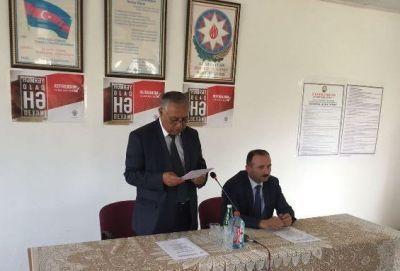В Гаджикабуле прошло мероприятие в связи с агитационной капманией