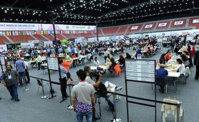 Bakı Şahmat Olimpiadasında IV turun oyunları keçirilir