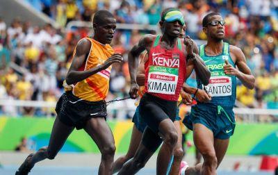 Keniyalı idmançı Paralimpiya Oyunlarının ilk qızıl medalını qazanıb