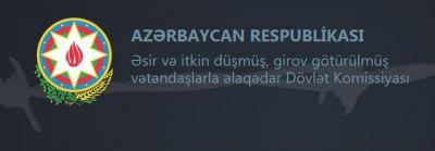 Dövlət Komissiyası itkin düşmüş şəxslərlə bağlı vətəndaşlara müraciət etdi