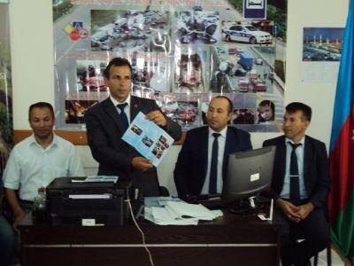 """""""Yol-nəqliyyat qəzalarına qarşı mübarizə kampaniyasının təşkili""""  FOTOLAR"""