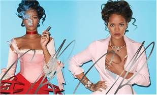 Rihanna kraliça olduğunu bir daha təsdiq etdi FOTOLAR