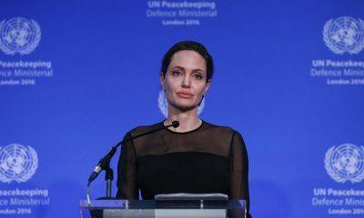 Анджелина Джоли выступила на саммите по миротворчеству ООН