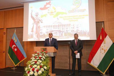Bakıda Tacikistanın milli bayramı qeyd edilib