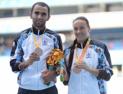 Азербайджанские паралимпийцы завоевали еще 2 медали в Рио a418829c68e91dd0e9341e0f647ffb16