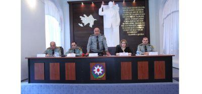 Penitensiar xidmətdə seminar-məşğələ keçirilib FOTOLAR
