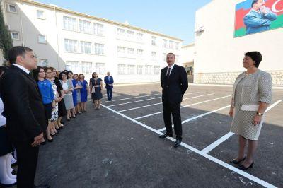 Ильхам Алиев: «В Азербайджане стопроцентная грамотность»