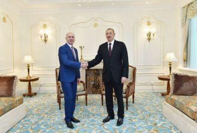 Ильхам Алиев встретился с премьером Молдовы