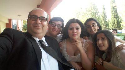 Musiqili Teatrın aktyorları filmə çəkilir FOTOLAR