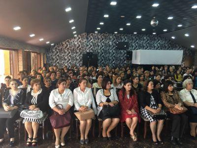 """Женщины избиратели Сальянского района говорят """"ДА"""" поправкам"""