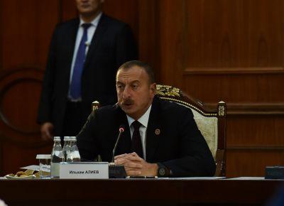 Ильхам Алиев: Армения своими жалобами надоела международным организациям