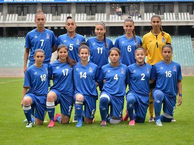 Futbolçu qızlarımız Avropa çempionatında mübarizəni dayandırdı