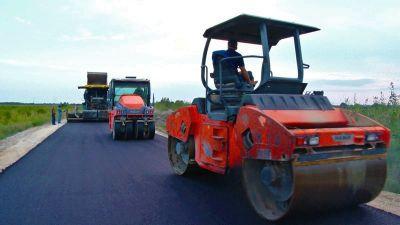 Salyanda 19 km uzunluğunda avtomobil yolu inşa olunur  FOTOLAR