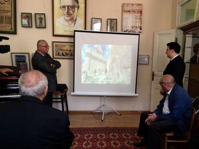 Üzeyir Hacıbəylinin doğum günü ev muzeyində qeyd edilib FOTOLAR