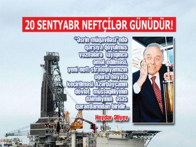 Azərbaycan neftçilərinin pensiya təminatı ildən-ilə güclənir