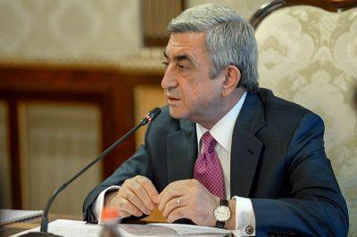 Саргсян назначил новых министров