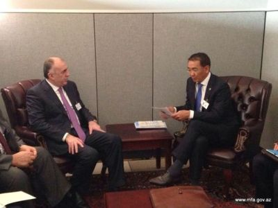 Глава МИД встретился с монгольским коллегой